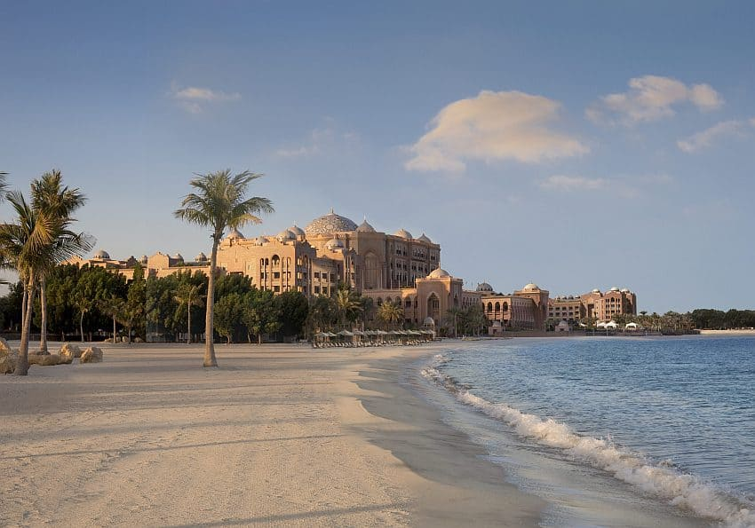 Emirates Palace Beach Morning