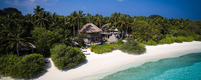 Soneva Fushi Jungle Reserve Villa Side Aerial By Moritz Krebs