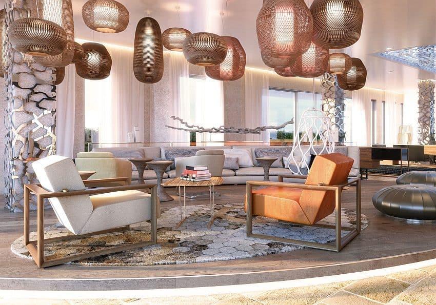 7Pines Ibiza Lobby Luxushotel