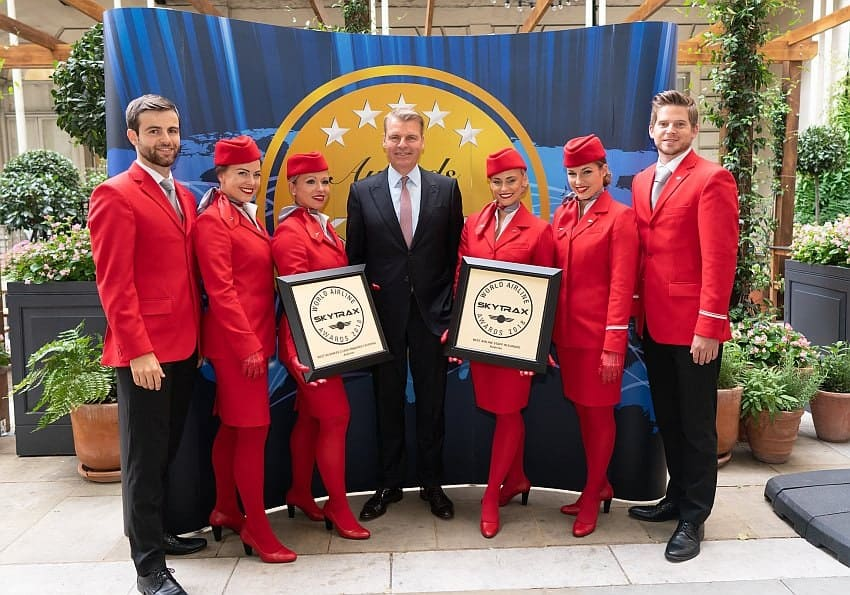 Austrian Airlines World Airline Awards