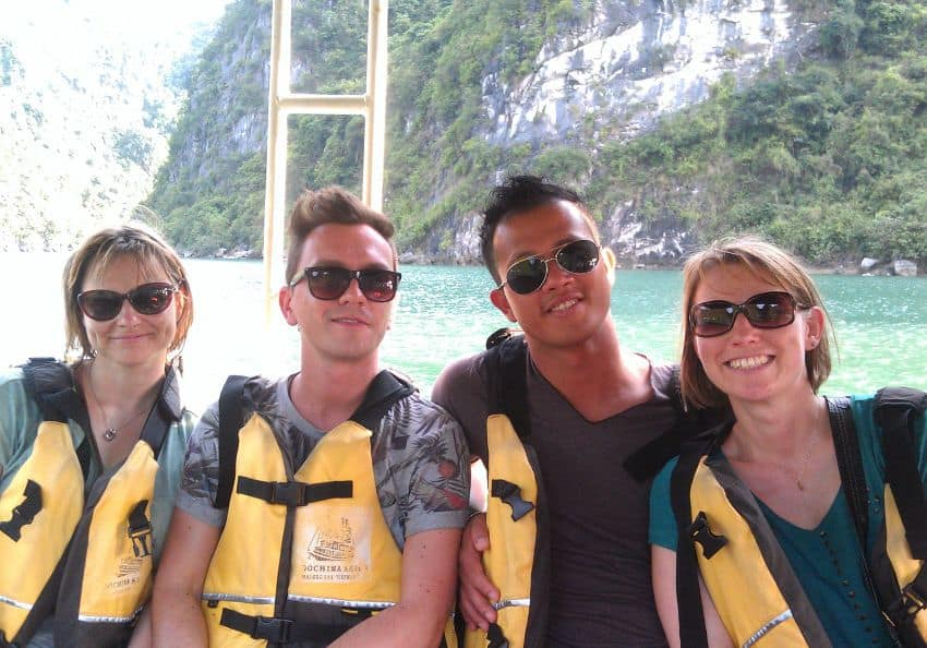 Bootsausflug Halong Bucht