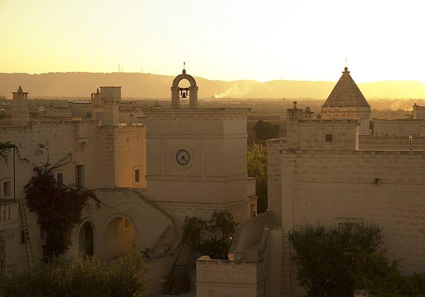 Borgo Egnazia Aerial Sunset