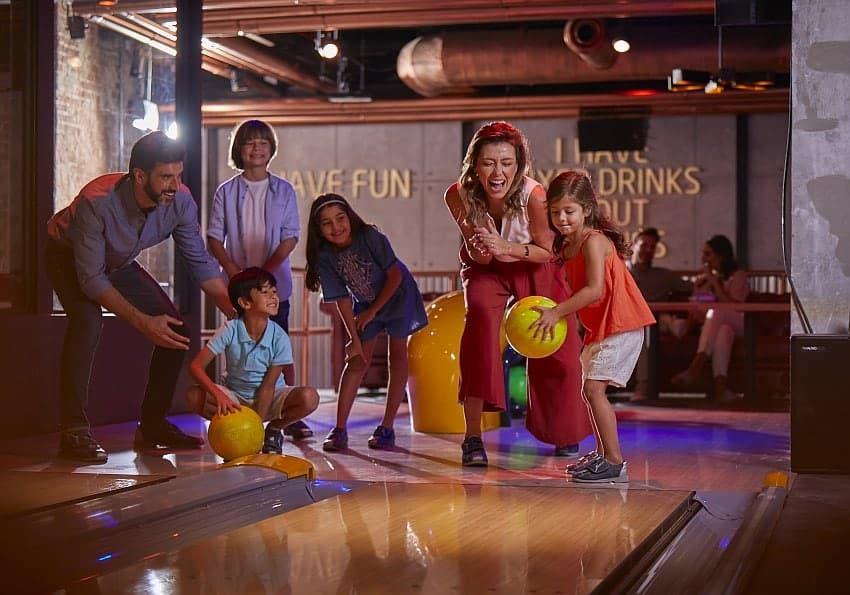 Bowling Familie Wavehouse