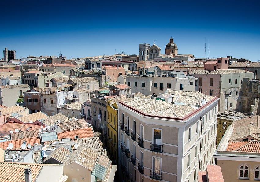 Cagliari Altstadt