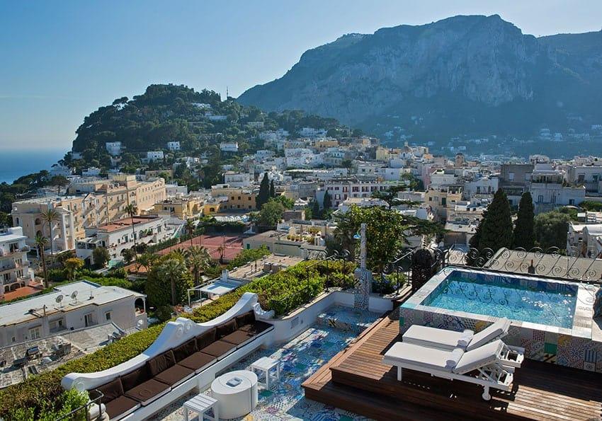 Blick über Capri