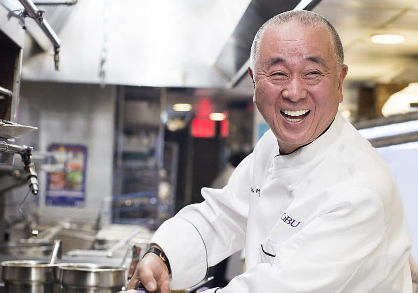 Chef Nobu Matsuhisa Evan Sung
