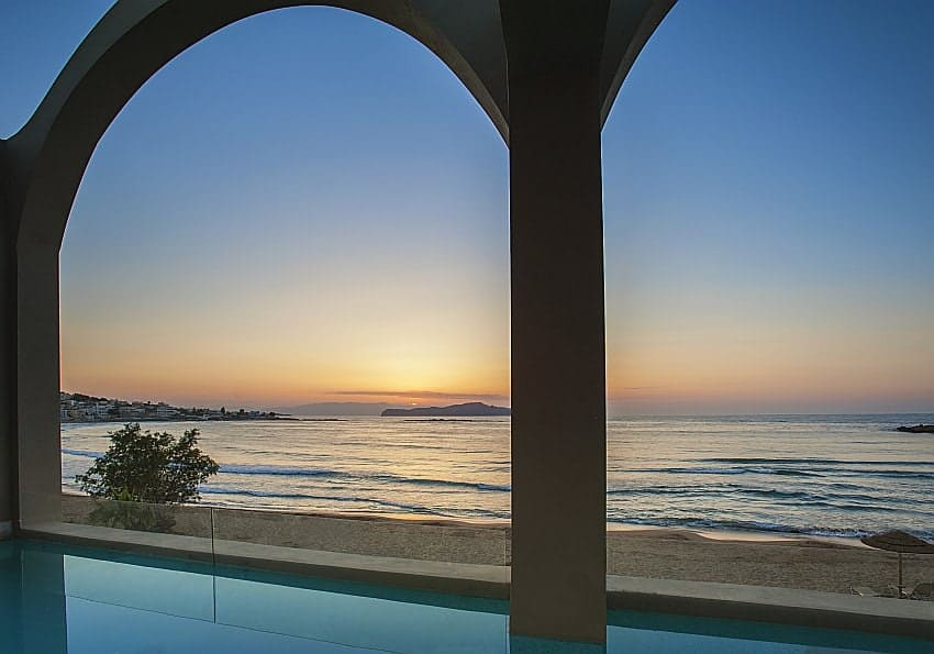 Domes Sonnenuntergang Chania