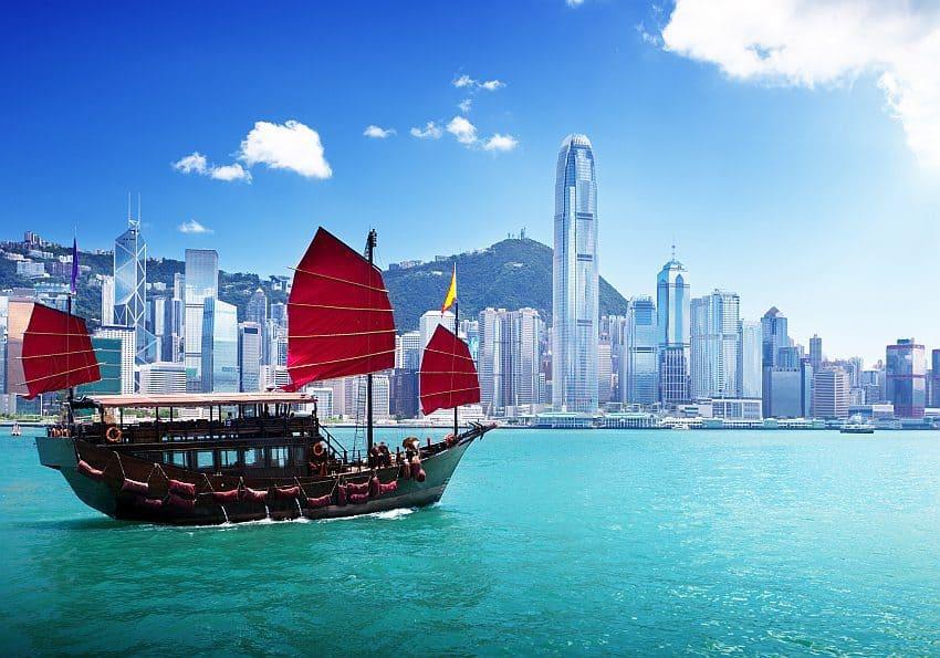 Dschunke Hongkong
