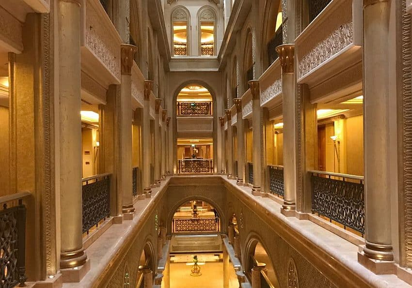 EWTC Inforeise Highlight Hotel Emirates Palace Abu Dhabi