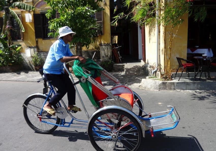 Fahrradrikscha Hanoi