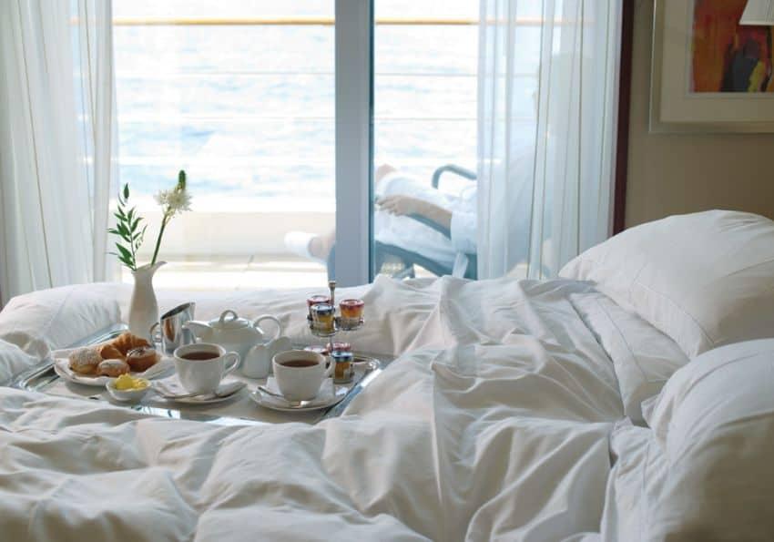 Frühstück Bett