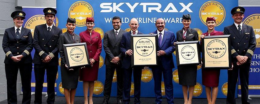 World Airline Awards Qatar Airways