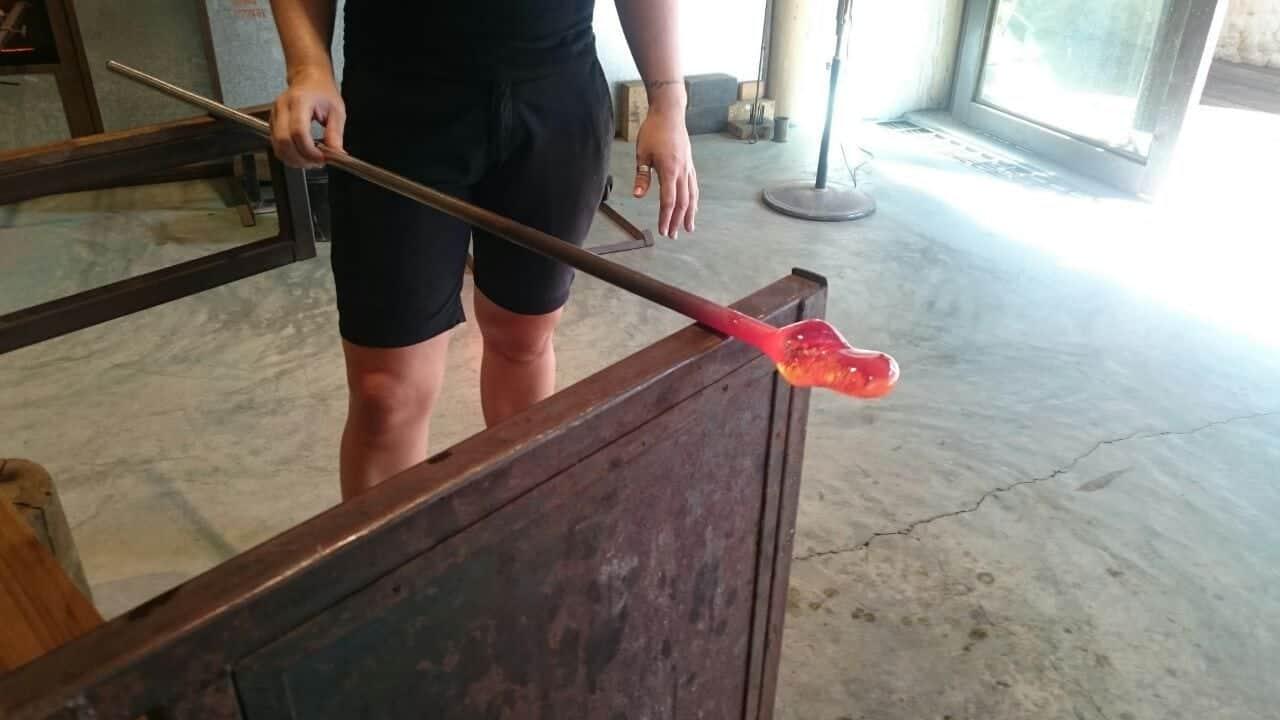 Malediven Glaswerkstatt