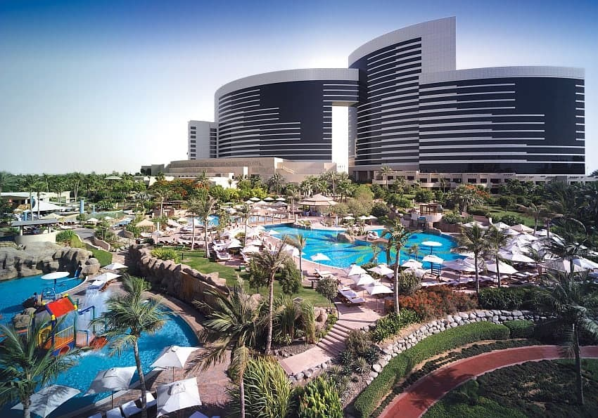 Poolanlage Grand Hyatt Dubai