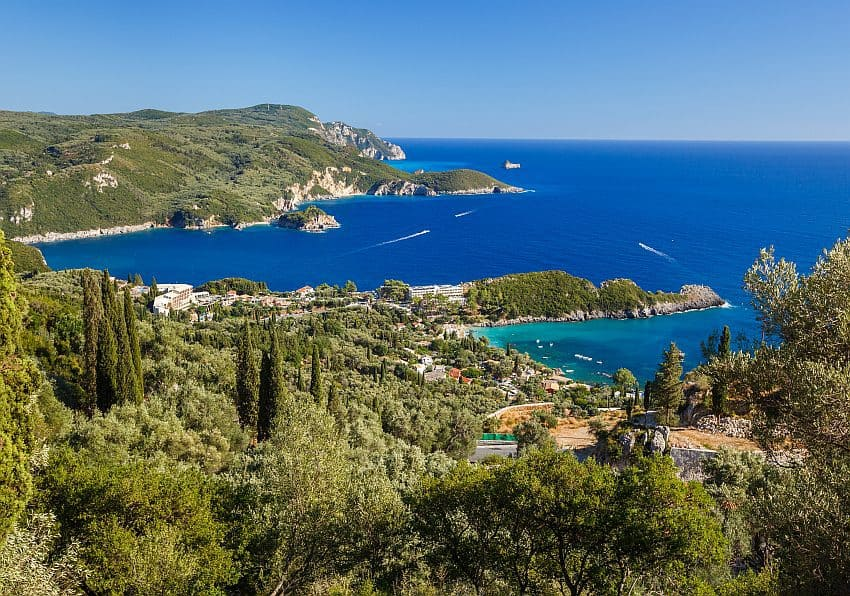 Griechenland Korfu Paleokastrita Istock