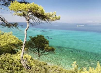 Griechenland Chalkidiki Bootsausflug
