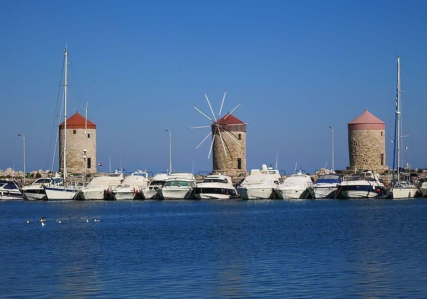 Hafen Rhodos Stadt