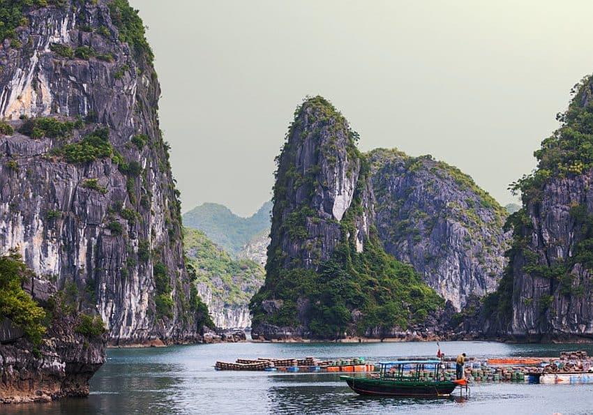 Nordvietnam Halong Bucht