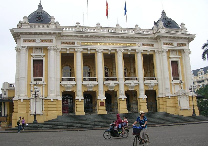 Nordvietnam Hanoi Französisches Viertel