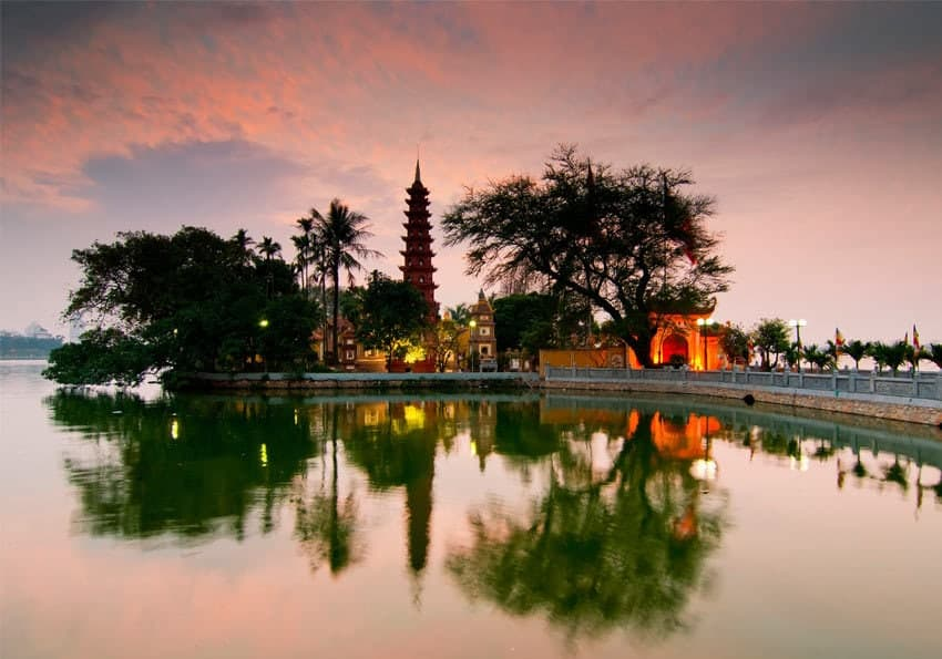 Hanoi Tran Quoc Pagode