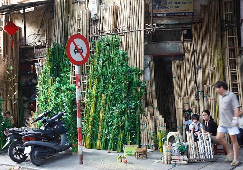 Nordvietnam Hanoi Altstadt