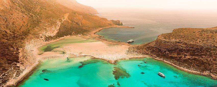 Balos Beach auf Kreta