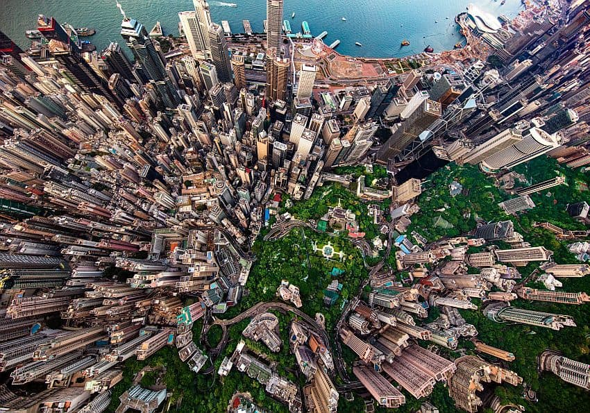 Hongkongisland Von Oben
