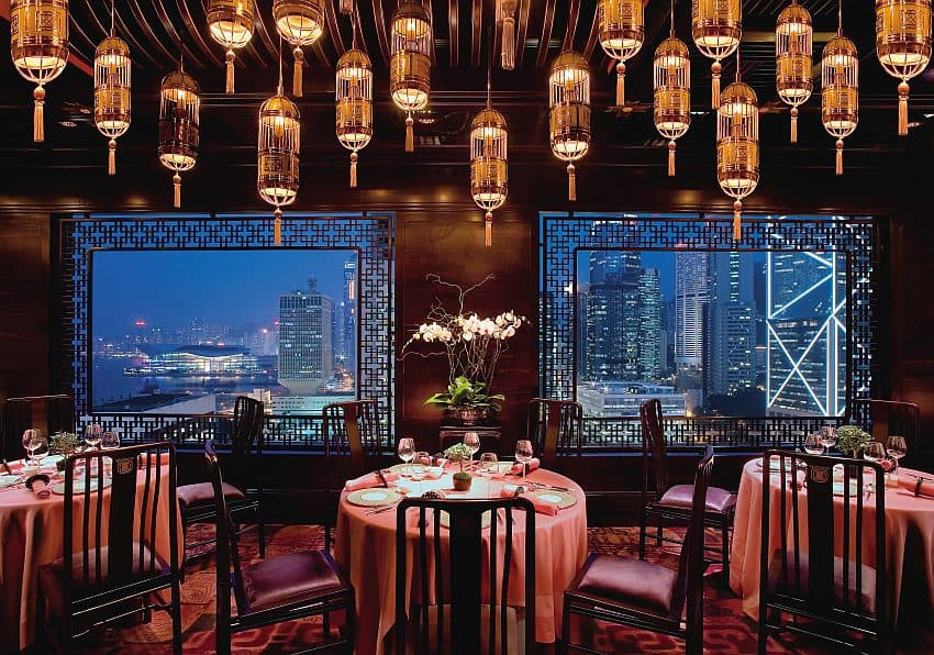 Hongkong Mandarin Oriental Restaurant Man Wah