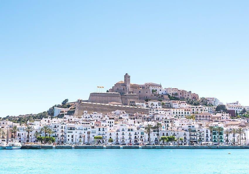 Ibiza-Stadt Panorama EWTC-Blog