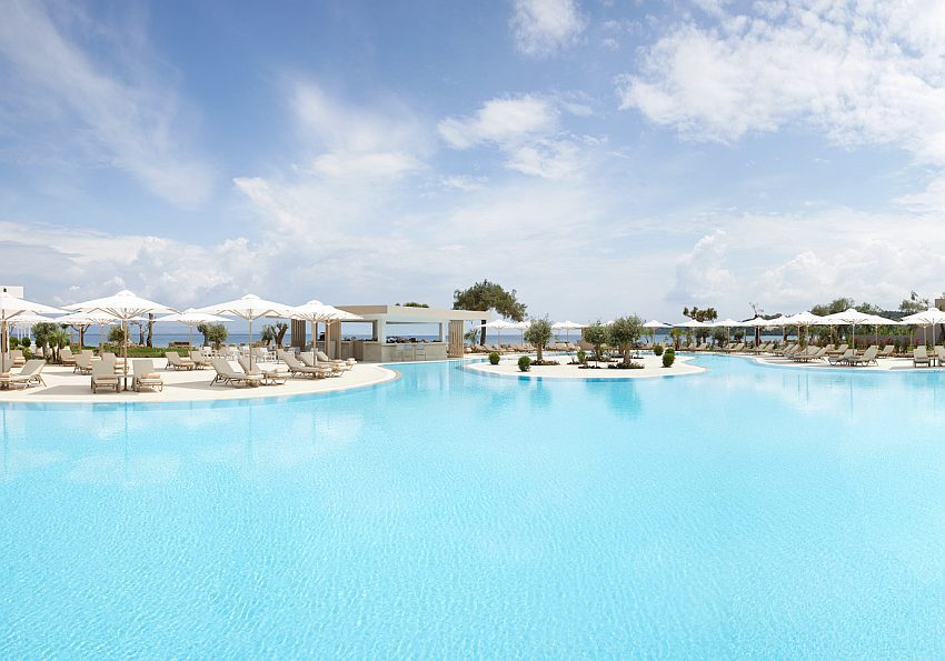 Ikos Dassia Main Pool Panoramic