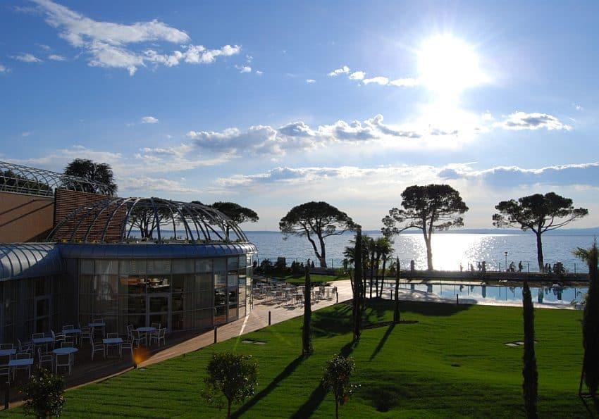Italien Corte Valier Panoramica Vista Lago