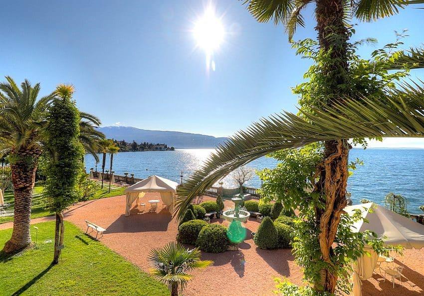 Italien Grand Hotel Fasano Außen