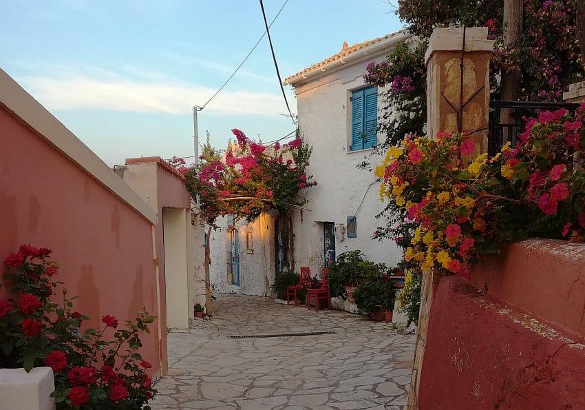 Korfu Afionas Ort