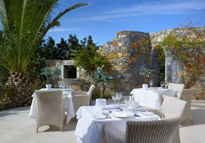 Kreta St Nicolas Bay Labyrinthos Main Restaurant