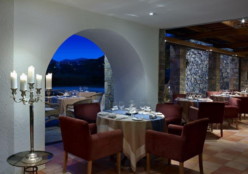 Kreta St Nicolas Bay Minotaure Fine Dining Restaurant
