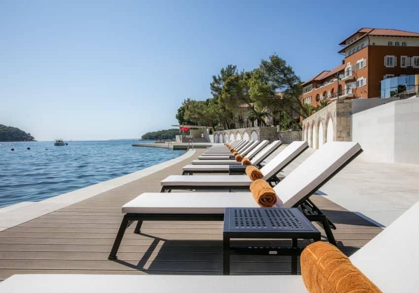 Kroatien Alhambra Losinj Beach