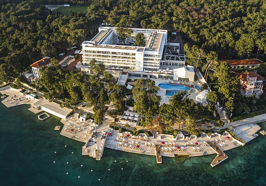 Kroatien Bellevue Losinj Außen