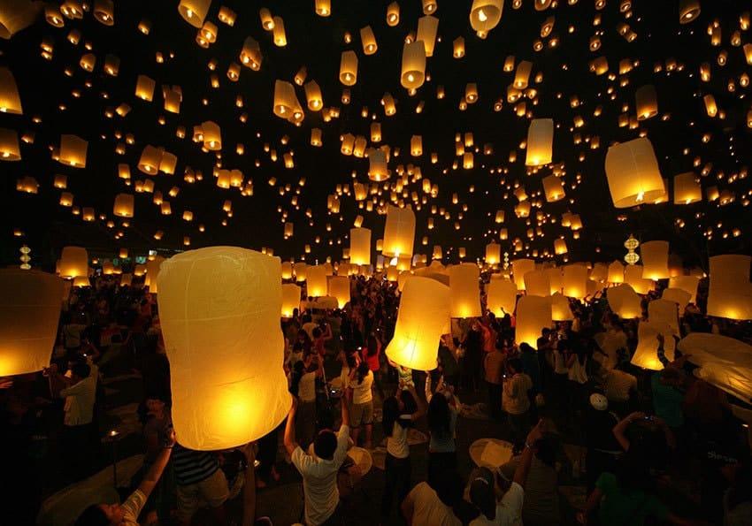 Lichterfest Loy Krathong