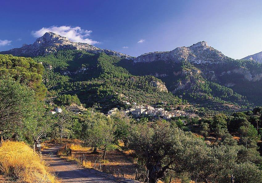 Mallorca Estellencs Landschaft