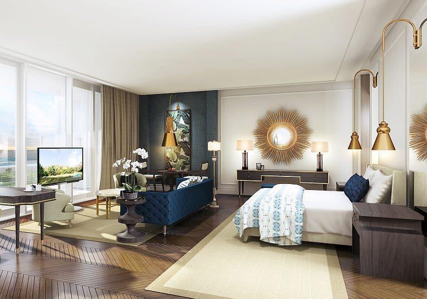 Mandarin Oriental Jumeira Dubai Mandarin Room Bedroom