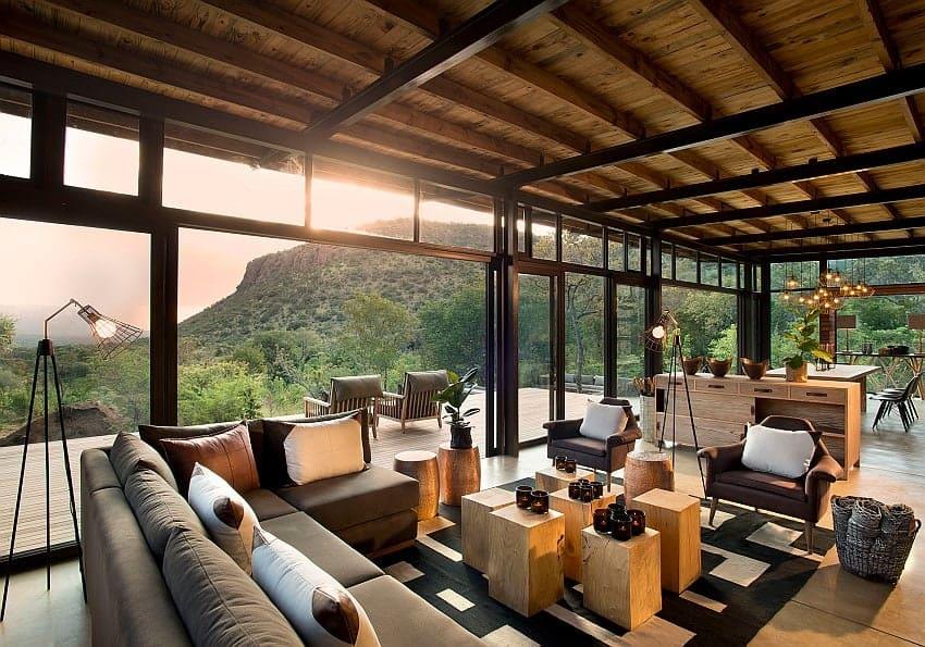 Marataba Mountain Lodge Lobby