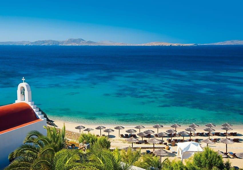 Ideal im Spätsommer: Mykonos Grand Hotel & Resort
