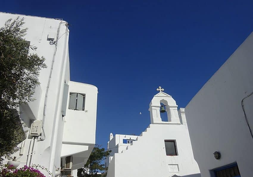 Kapelle Mykonos Stadt EWTC
