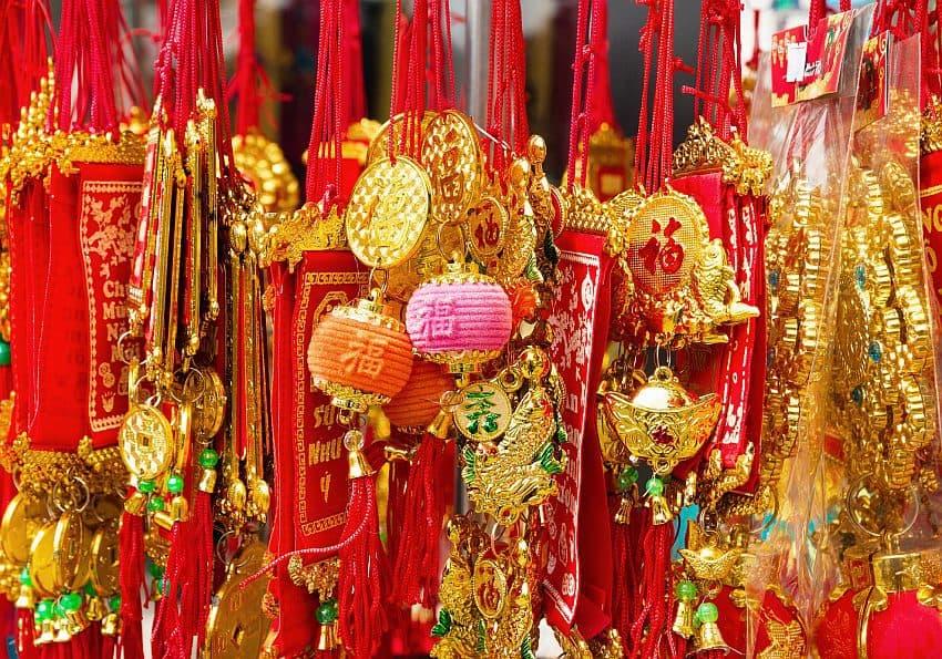 Glücksbringer zum Neujahrsfest in Vietnam