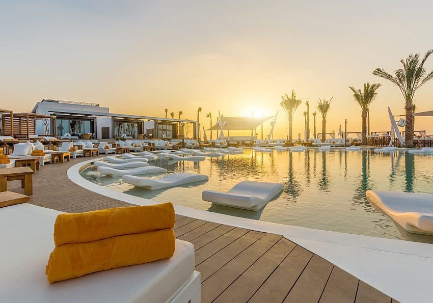 Pool Beach Club Dubai Nikki Beach