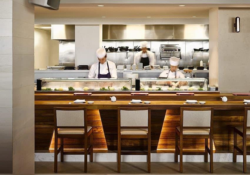 Nobu Restaurant Chefs