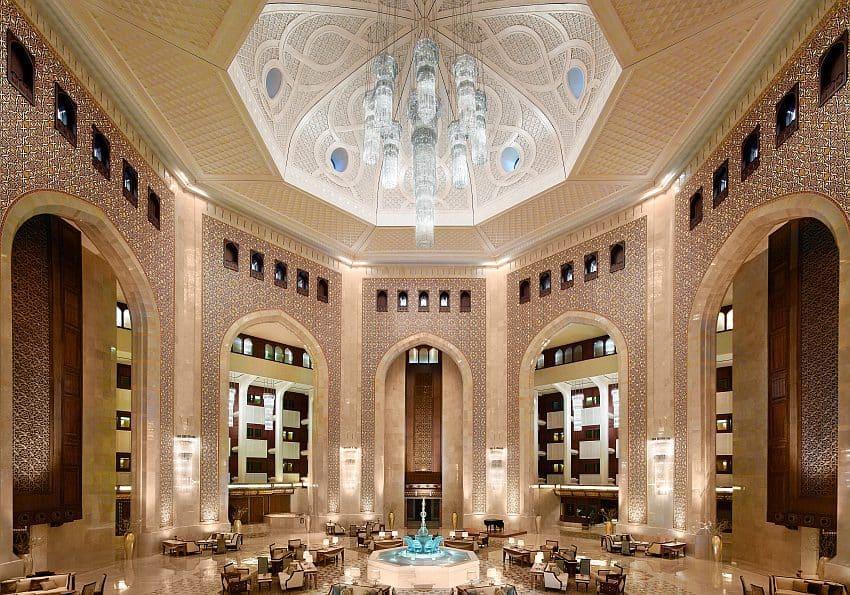 Oman Al Bustan Palace Lobby