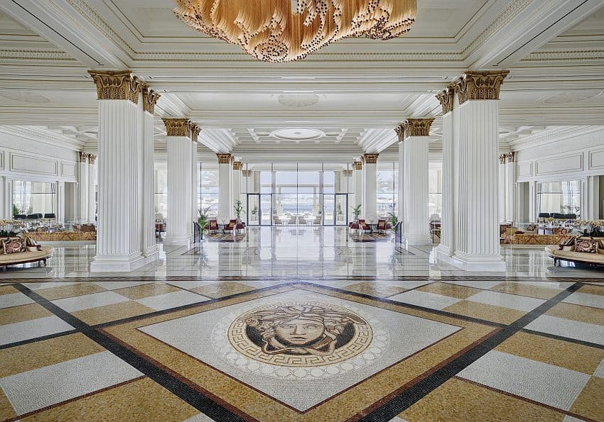Palazzo Versace Dubai Hotel Lobby