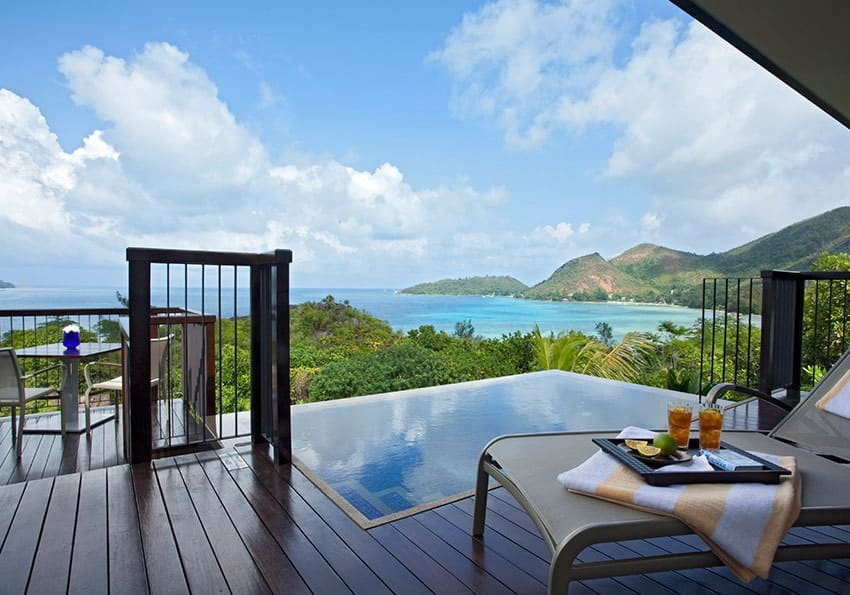 Panorama Raffles Seychelles