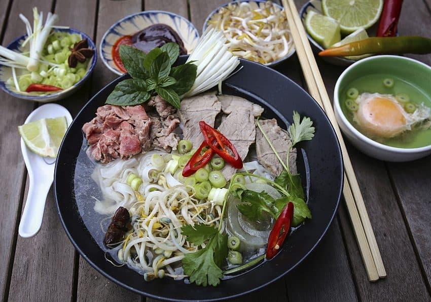 Pho Vietnamesiche Frühstückssuppe